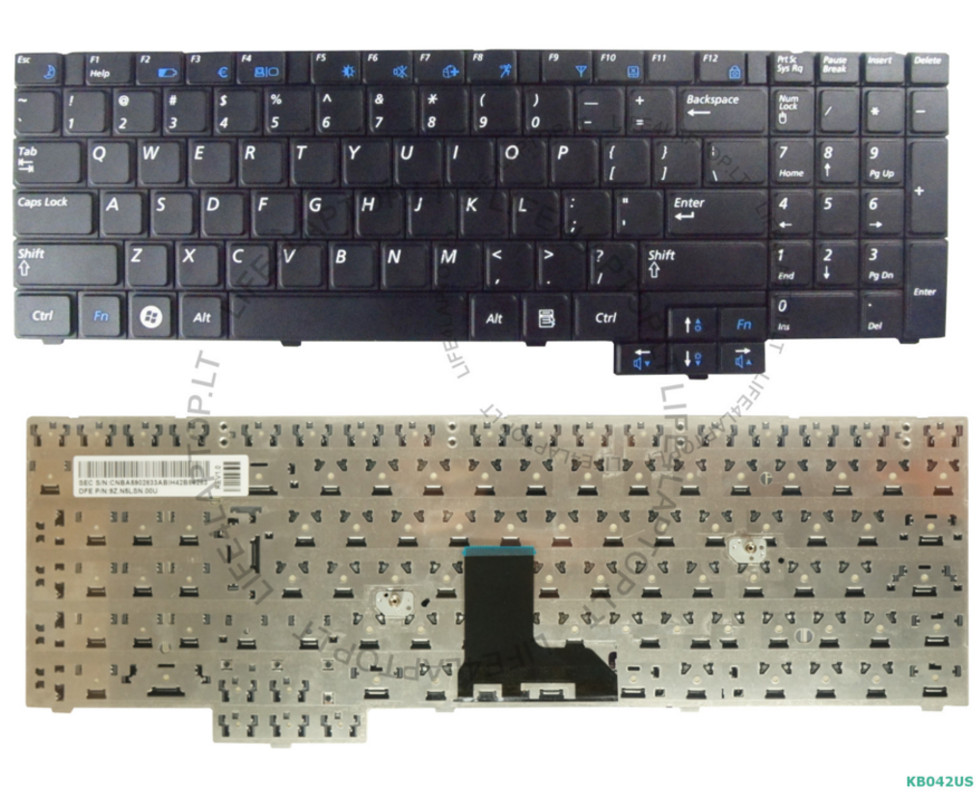 Tastiera Keyboard Originale Italiana per Notebook Samsung R525 R523 P580 P530