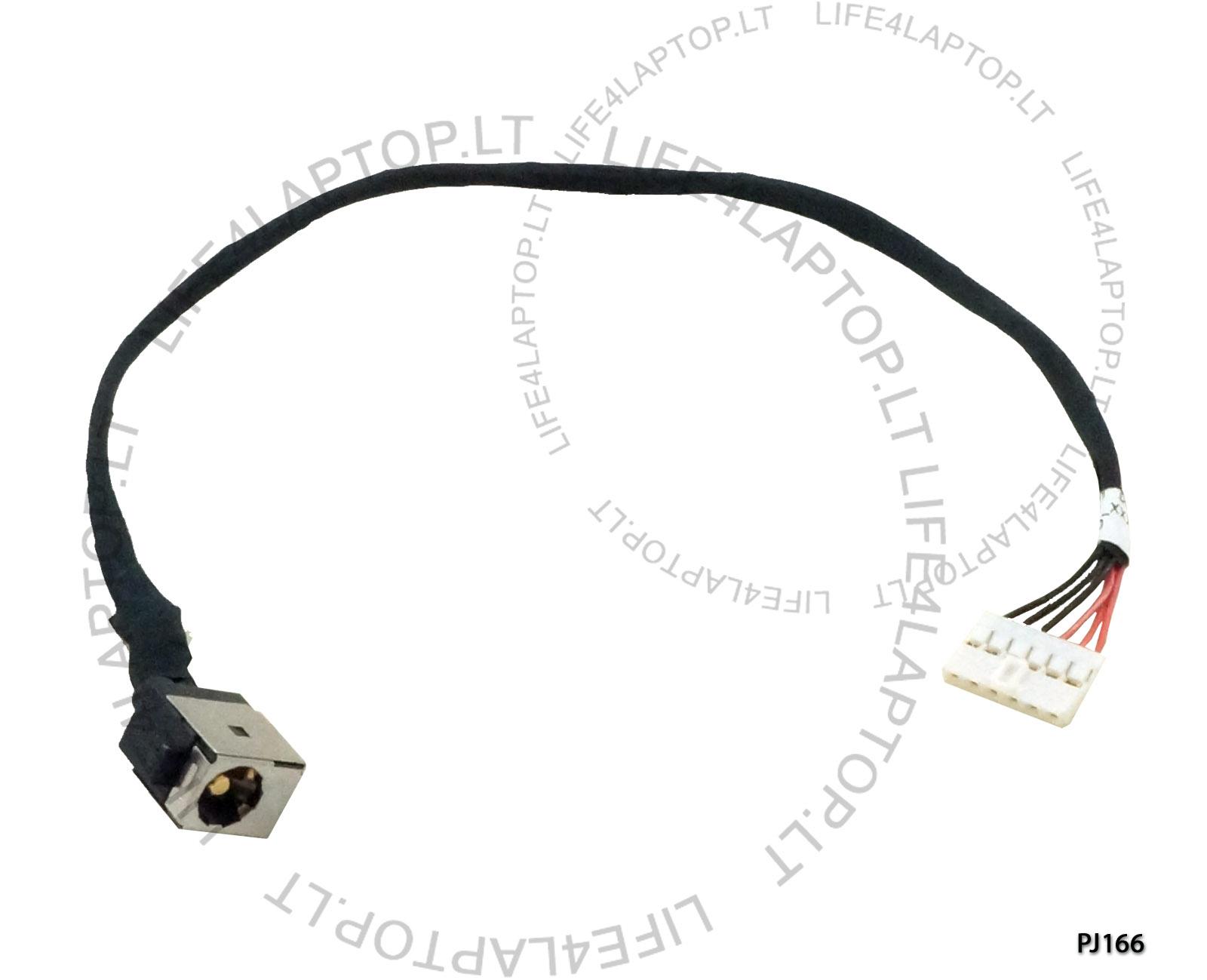 Asus X751 F751 DC Stecker Buchse Stromanschluss Mit Kabel Draht NEU ...