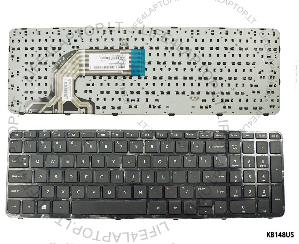 schwarz USA Tastatur für HP 250 G2 250 G3 255 G2 255 G3 256 G2 256 ...
