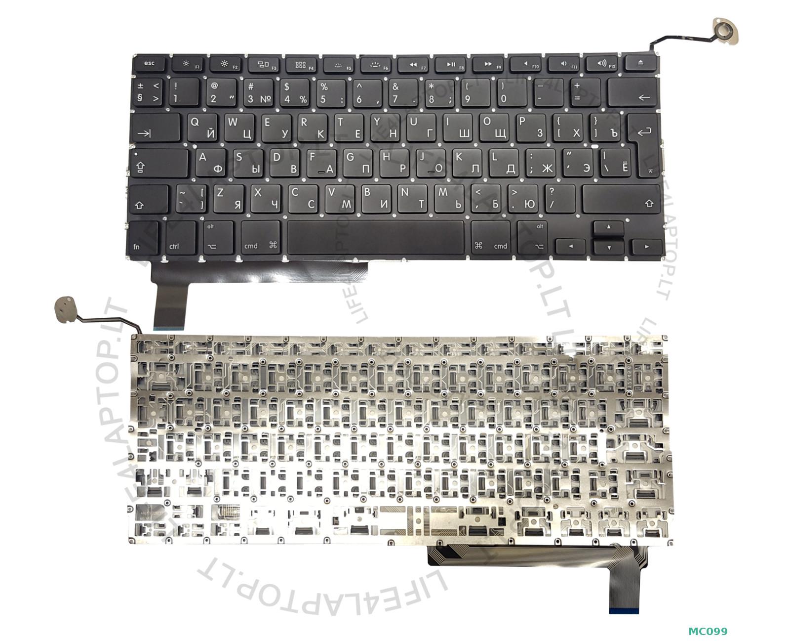 Nuevo-Apple-MacBook-Pro-15-034-Unibody-A1286-TECLADO-NEGRO-GB-2009-2010-2011-2012